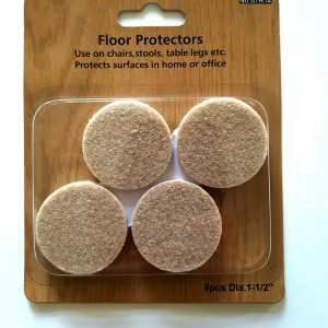 x8 1.5inch diameter floor protectors