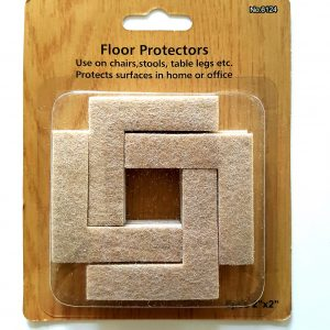 x8 L shaped floor protectors