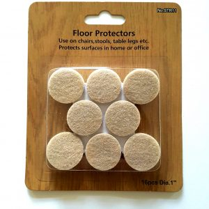 x16 1inch diameter floor protectors