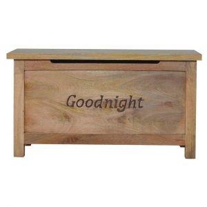Solid Wood Blanket Box