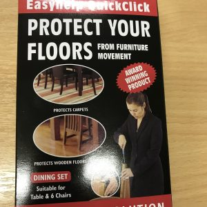 easyhelp Quickclick Floor and Furniture protectors - Felt Glide