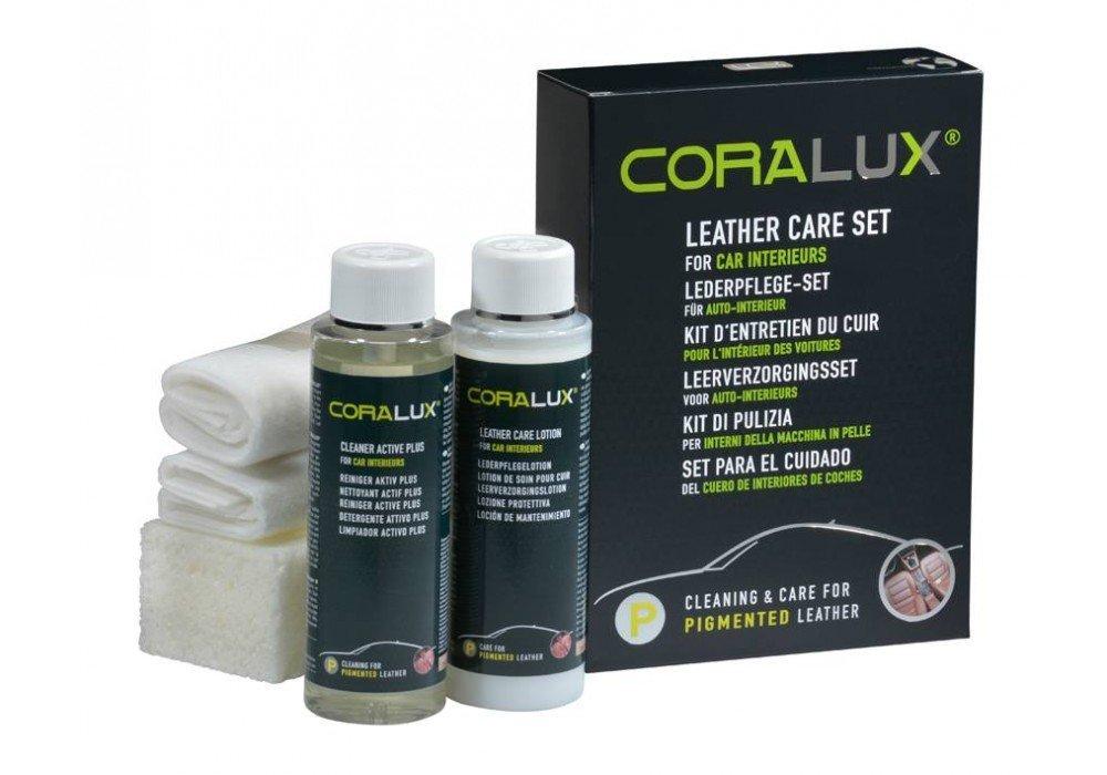 CORALUX Leather Care Set Car